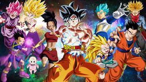 All Saiyans Of Dragon Ball Super by WindyEchoes