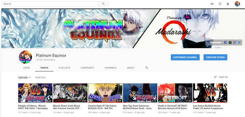BLEACH ANIME Youtube Support Channel 2018 by WindyEchoes