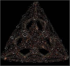 Glowing Spyral Pyramid by Rescyou