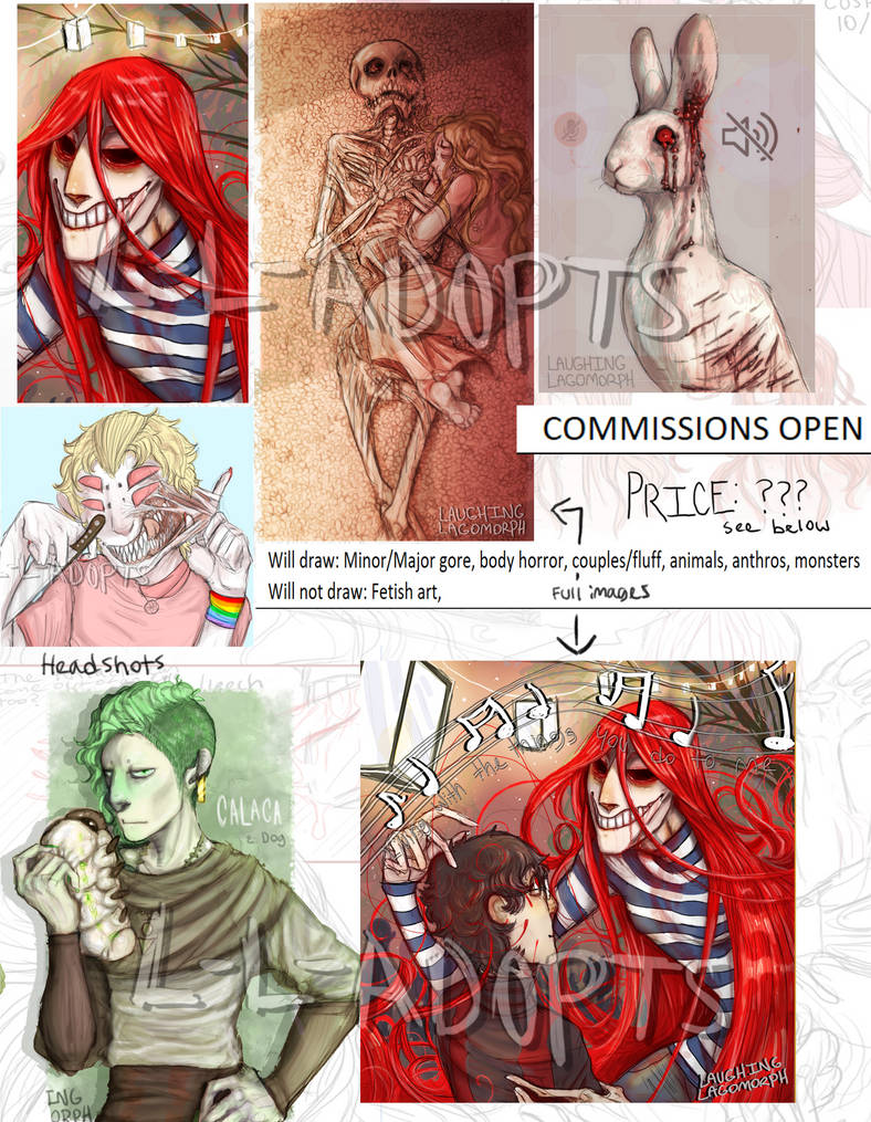 NAME YOUR PRICE COMMISSIONS by L-L-Adopts