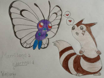 Butterfree and Ferret by Kotomi1314