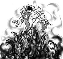 Demnok Lannik, the Warlock by Halycon450
