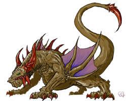Elder Dragon by Halycon450