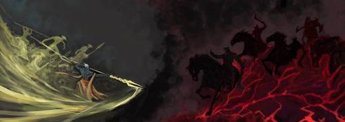 Radiant vs. Dire by Halycon450