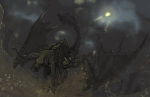 Diablos, the Desert Tyrant by Halycon450
