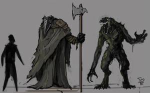 Draconian Guard by Halycon450