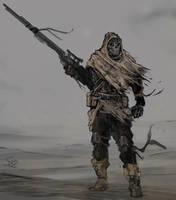 Desert Hunter by Halycon450