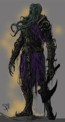 Mindflayer Knight by Halycon450