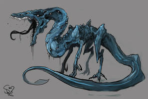 Cerulean Devourer by Halycon450