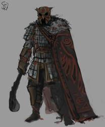 Danga Clan Night Warrior by Halycon450