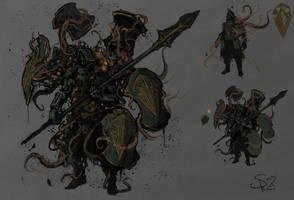 Plague-ridden Phalanx by Halycon450