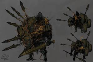 Plague-ridden Phalanx II by Halycon450