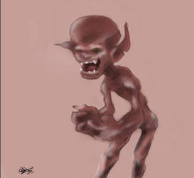 Clay Creature by kenestioko