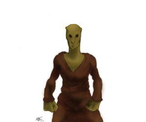 Alien Hybrid by kenestioko