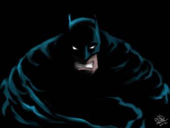 The Dark Knight by kenestioko