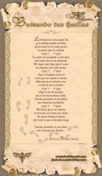 Poema: Buscando tus huellas by crisoldeleyendas