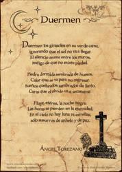 Poema: Duermen by crisoldeleyendas