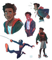 Into the SpiderVerse by Risto-licious
