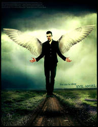 Evil Angel by JarethsQueenAlora