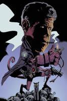 Ron Perlman Hellboy by MaxAlanFuchs