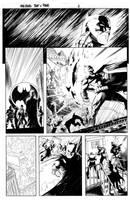 Batman Vs Predator Page 2 by MaxAlanFuchs