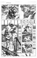 Punisher vs. Mandrill 2.0 pg. 2 by MaxAlanFuchs