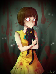 Fran Bow and Mr.Midnight by NeroKim
