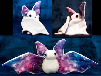 White Space Bat by heytherejustine