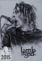 D. Randall Blythe // Lamb Of God by DariaCerberus