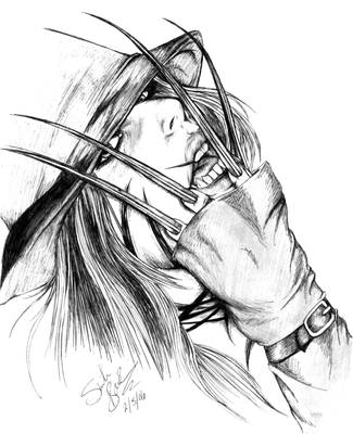 Touch of my claws by darkeners