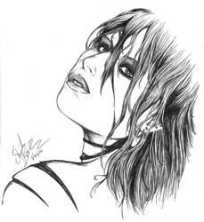 -Soaked in her deadly beauty- by darkeners