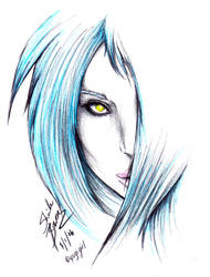 - ice priestess of the cold - by darkeners