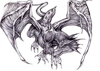 - Black dragon - by darkeners