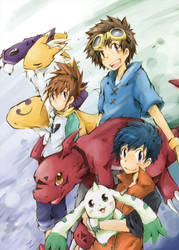 Digimon 03 by hangdok