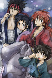Rurouni Kenshin by hangdok