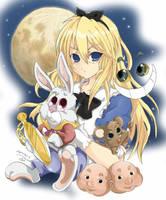 Alice in Wonderland by Nemezis40i4