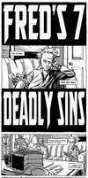 Fred's 7 Deadly Sins by JoeRuff