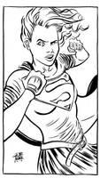 Supergirl by JoeRuff