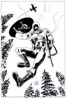 Captain America by JoeRuff