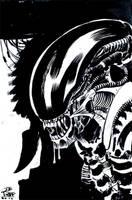 Alien by JoeRuff