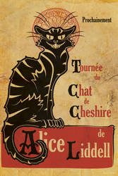 La Tournee du Chat de Cheshire by Pinutte