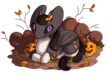 Trick or Treat! by aquacat451