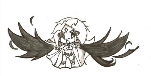 raven chibi re-do by wishIwasBeastGirl