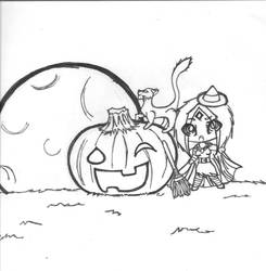 happy halloween by wishIwasBeastGirl