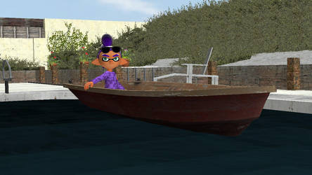 Boat Riding in the Pool by ILoveCookiesLP