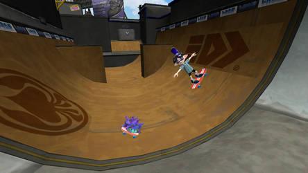 Skateboarding by ILoveCookiesLP