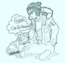 G-Dragon and Gaho by JD-SPEEDbit