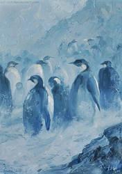 Penguins by kir-tat