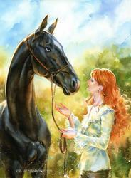Tosha and Nastya by kir-tat