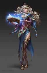 Sorceress by kir-tat